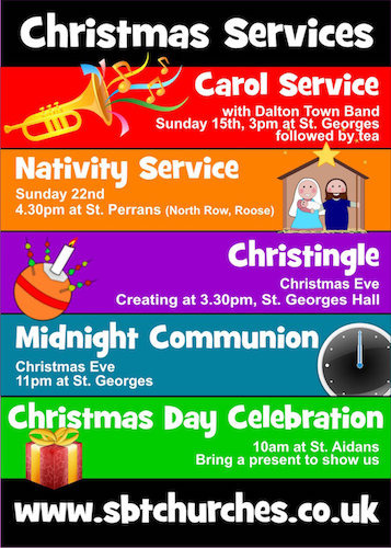 Flyer Design, Barrow, Furness, Cumbria, business, charity, community, church