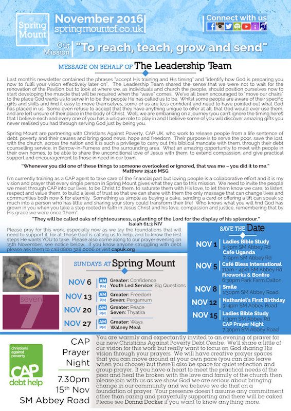 monthly Newsletter Design by Windmill Websites