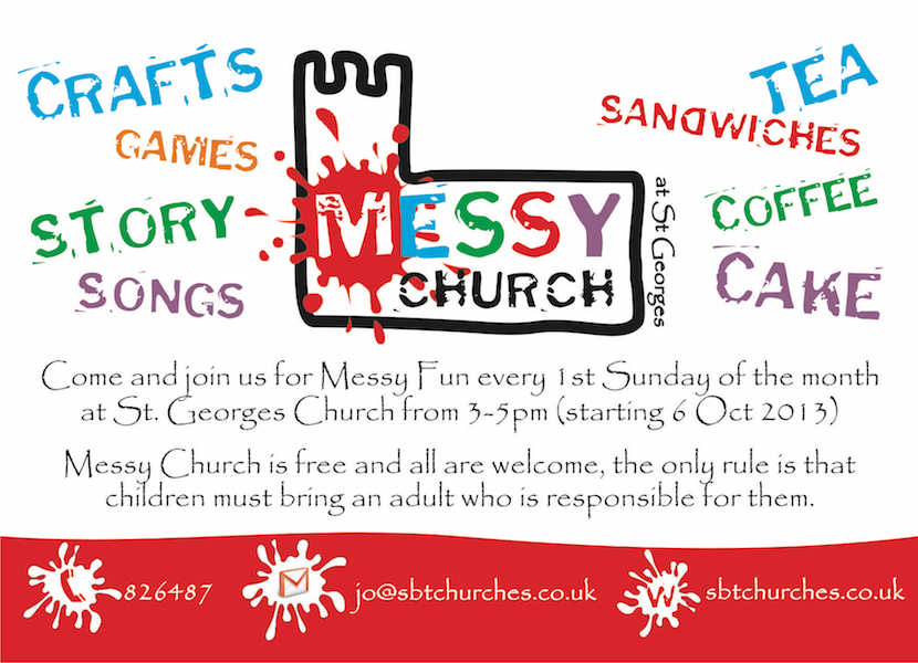 Flyer Postcard Design, Barrow, Furness, Cumbria, business, charity, community, church