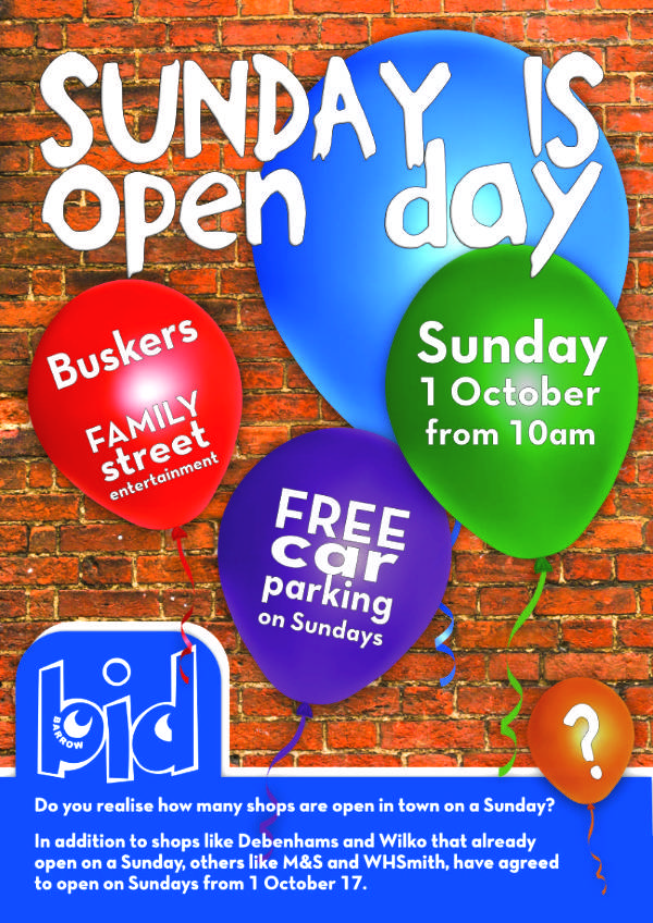 Barrow-bid-Sunday is open day progressive u2013 Windmill Websites