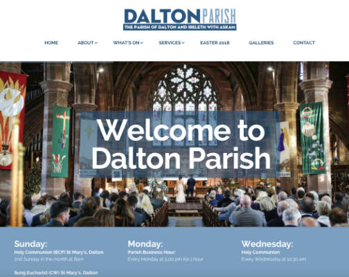 Dalton Parish - St. Mary's Dalton and St. Peter's Ireleth - by Windmill Websites