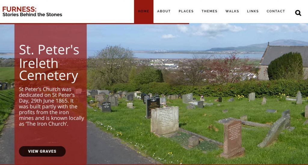 Website Design by Windmill Websites - furness stories behind the stones